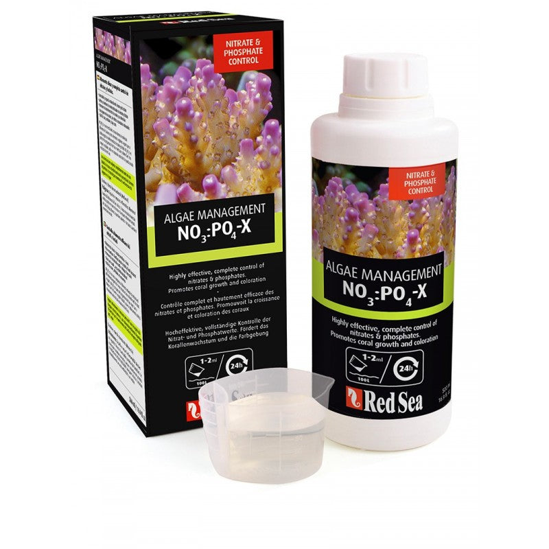 Red Sea NO3:PO4-X Biological Nitrate & Phosphate Reducer for Aquarium (1liter)