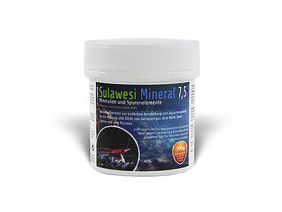 Sulawesi Mineral 7.5 - Minerals and trace elements : 100g