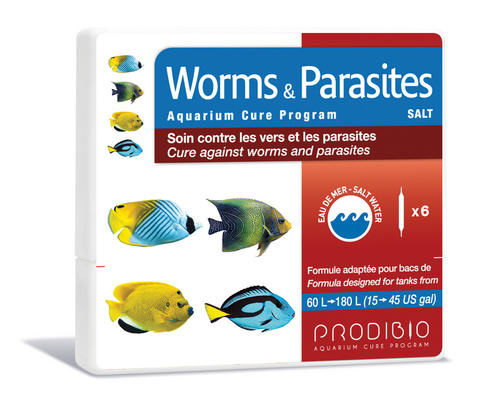 Worms & Parasites Salt Water : 6 Vials