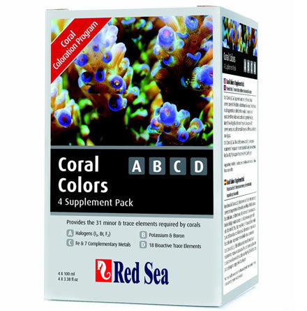 Red Sea - Coral Colors ABCD : 100ml