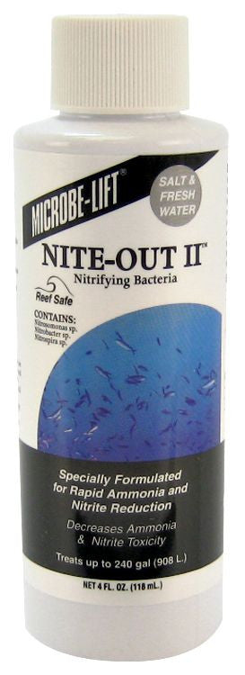 Microbe lift-Nite-Out II -Salt & Fresh Water 4oz