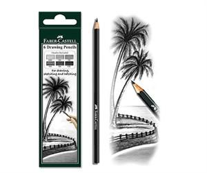 FABER-CASTELL - Drawing Pencil Set (Set of 2)