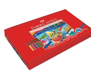 FABER-CASTELL - Water Colour Pencil Wood Case - 24 colors - {variant_title}} - pen - SSM - www.tcgonlinestore.com - www.tcgonlinestore.com