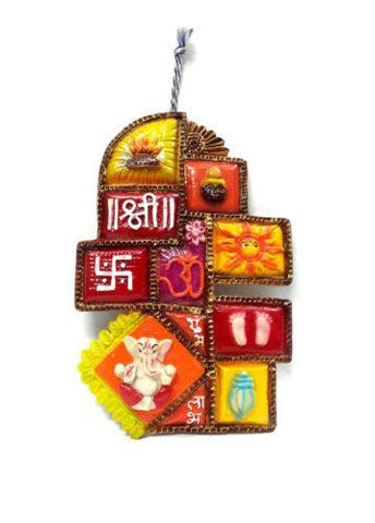 Lord Ganesha Navgraha Door and Wall Hanging - {variant_title}} - Wall or Door Hanging - sdp - www.tcgonlinestore.com - www.tcgonlinestore.com - 1
