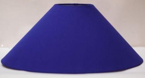 "Lamp Shade for Table or floor Lamp with free home delivery 13"" Round Blue color - {variant_title}} - lamp and shade - esteem - www.tcgonlinestore.com - www.tcgonlinestore.com - 1"