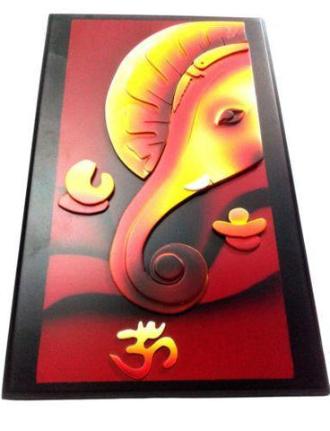 Wooden Ganesha Wall Hanging Ideal Gift - {variant_title}} - Wall Hanging - sdp - www.tcgonlinestore.com - www.tcgonlinestore.com - 1