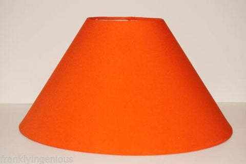 "Lamp Shade for Table Lamp with free home delivery 10"" Round Orange Colour - {variant_title}} - lamp shade - esteem - www.tcgonlinestore.com - www.tcgonlinestore.com"