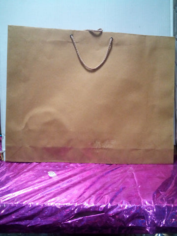 Free Shipping 2015 New Single Pc 36*45*9 cm Wedding Party Birthday Xmas Gift Packing Shopping brown mill paper bag - {variant_title}} - shopping bag - www.tcgonlinestore.com - www.tcgonlinestore.com - www.tcgonlinestore.com
