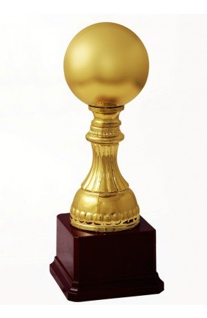 Trophy Emporium Golden Ball Trophy 29cms