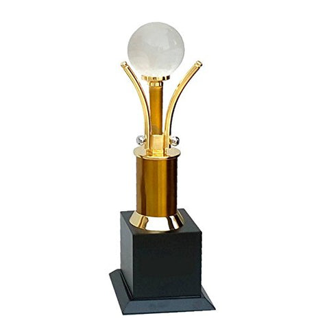 7 Star Gifts Wooden Superior Quality Trophy (4x4x15.5cm)