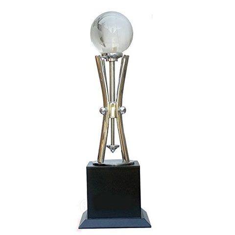 7 Star Gifts Wooden Superior Quality Trophy (3.25x3.25x11cm)