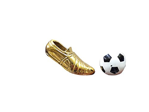 GENERIC Golden Shoe and white and Black Boll Model No.1039