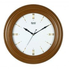 Ajanta Quartz Wooden Simple Wall Clock