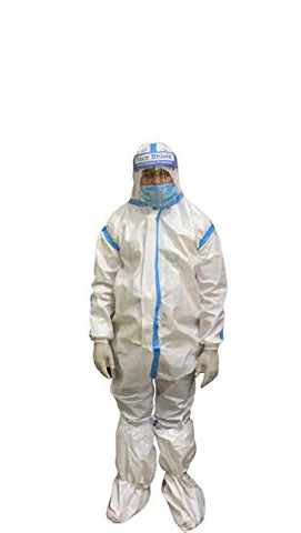 CHILLI BILLI Healthgenie PPE Kit Medical Disposable Protective Coverall Suits for Ward/Hospital/Laboratory
