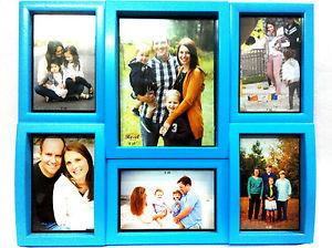 Elegant Collage Photo Frame For Six Pictures, New Design, Two Colours - {variant_title}} - Wall Hanging - anc - www.tcgonlinestore.com - www.tcgonlinestore.com