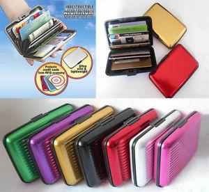 Best quality Aluminium Credit, Debit, ATM, Visiting Card Holder assorted colors - {variant_title}} - Credit Card Wallets - vcc - www.tcgonlinestore.com - www.tcgonlinestore.com - 2