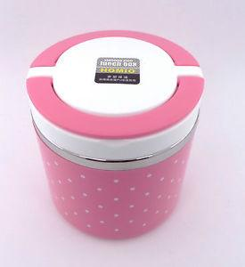 Stainless Steel Lunch Box Pink - {variant_title}} - tiffin - vcc - www.tcgonlinestore.com - www.tcgonlinestore.com - 1