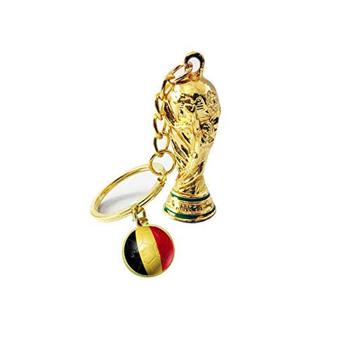 Lepakshi 2018 Football Fan Souvenir Soccer National Flag Football Keyrings Metal