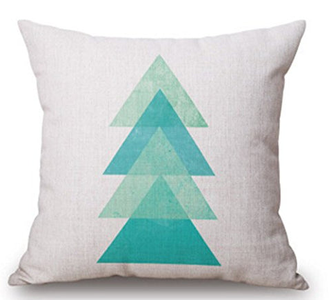 5 : Feather Arrow Magic squares Cotton Linen Throw Pillow Case Cushion Cover Home Sofa Decorative 18 X 18 Inch (5)