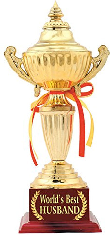 Husband Diwali Gift:Husband Birthday Gift:Husband Aniversary Gift Trophy:Award by Aark India (PC00457)