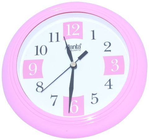 Ajanta Simple Clock (Pink, 2187)