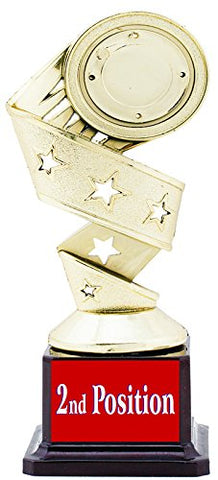 2nd POSITION TROPHY/AWARD/GIFT BY AARK INDIA(PC 00283)