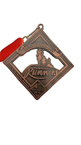 Trophy House Medals Bronze Color