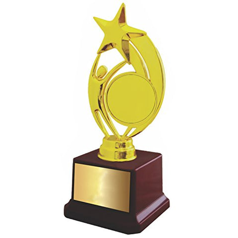 photograph relating to Printable Trophy referred to as Trophy Shopping mall Trophy ( 8.25 Inch Top)- With No cost Customizable / Printable Paper - Currently For the Initially Season upon Amaozn - Personalize your Particular TROPHY @ the