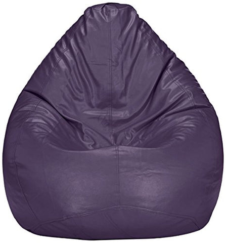 Amazon Brand - Solimo XXXL Bean Bag Cover Without Beans (Purple)