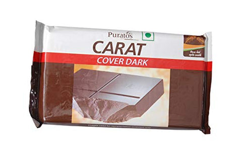 Puratos Carat Cover Dark Chocolate Bar (500 g)