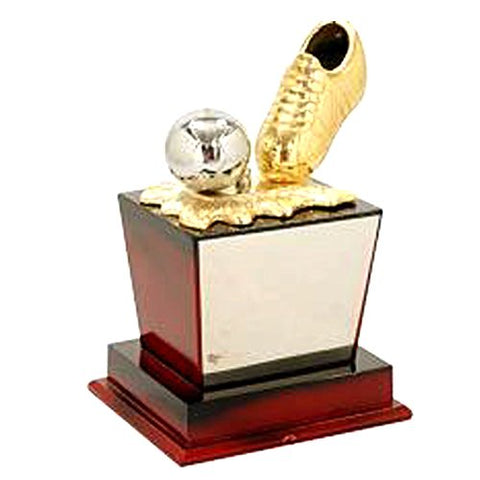 "Golden Moment Group Wooden Superior Quality Trophy (8"")"