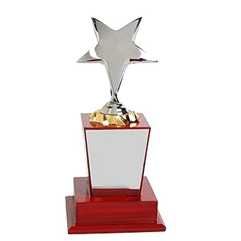 "Golden Moment Group Wooden Superior Quality Trophy (9"")"