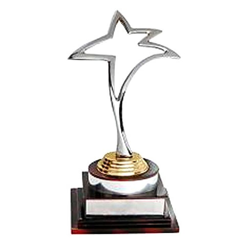 "Golden Moment Group Wooden Superior Quality Trophy (10"")"