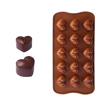 Mezon's Silicone Multi Shape Brown Chocolate Making Mould Fondant Baking Tool