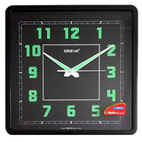 Ajanta Oreva Night Glow Analog Wall Clock (30 x 30 cm)