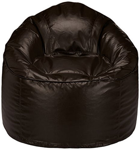 Amazon Brand - Solimo Mudda XXXL Bean Bag Cover Without Beans (Brown)
