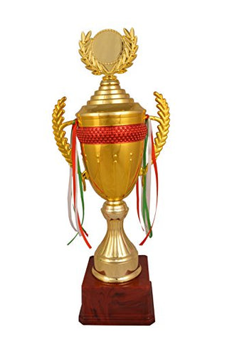 Trophy Junction Metallic-Fiber Trophy (Gold, 47 cm)
