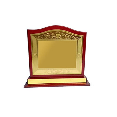 Z S Novelties Brown Wooden Supirior Quality Trophy_ZS 201-B