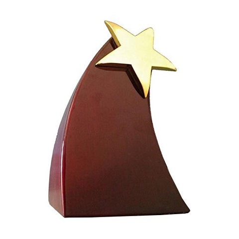 TC KING Trophy & Award For Sports / Corporates Events (Golden) Size: Regular, Metal TC-101