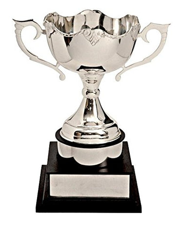TrophyWale Wooden Trophy with PU Finish, Height: 33 CM