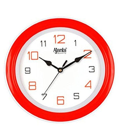 Ajanta Simple Clock (Red, 2147)