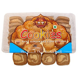 T T Traditionally Handmade Delicious Chocolate Cookies, 350g
