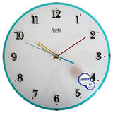 Ajanta Wall Clock For Home And Offices (30 cm x 30 cm , Silent Movement, White)