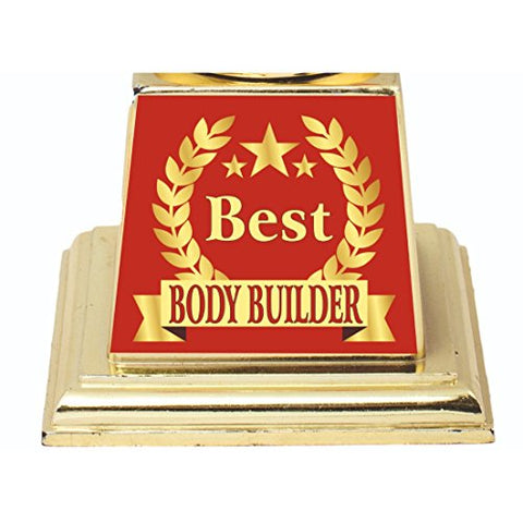BEST BODY BUILDER TROPHY:AWARD:GIFT BY AARK INDIA (PC 00388)