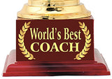 Best Coach Gift : Trophy : Award by Aark India (PC-00514)