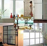 TOTAL HOME Bedroom Privacy Window PVC Sticker Frosted Glass Film Waterproof (60cm *200cm)