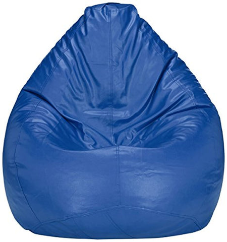 Amazon Brand - Solimo XXL Bean Bag Cover Without Beans (Blue)