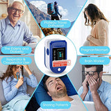DR VAKU® DR01 Swadesi Finger Tip Pulse Oximeter, Multipurpose Digital Monitoring Pulse Meter Rate & SpO2 with OLED Digital Display [Free Pouch and Battery]