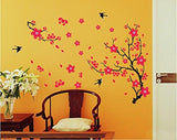 Decals Design 'Branch with Flowers' Wall Sticker (PVC Vinyl, 50 cm x 70 cm)