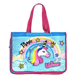 Shopaholic Fully Designed Activity Bags with Multiple Pockets for Kids/Teenagersr (Magic Unicorn)